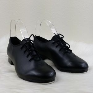 Bloch Tap Shoes Womens Black Sz 7M